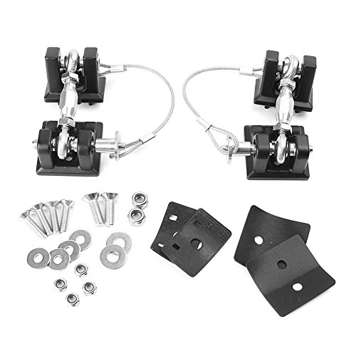 Timmart Hood Catch Lock For 2007-2017 Jeep Wrangler Jk & Unlimited by Timmart (Image #1)