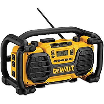 DEWALT 20V MAX/12V Jobsite Radio and Battery Charger (DCR015 ...