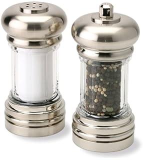 Olde Thompson 3575-58 Soho Mess Free Peppermill and Salt Shaker Set