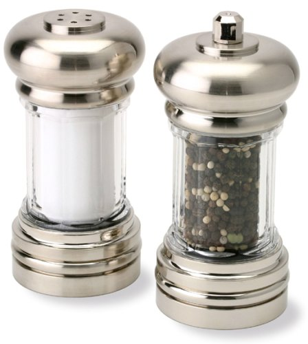 Olde Thompson 6-Inch Maxwell Peppermill and Salt Shaker (Salt Maxwell)