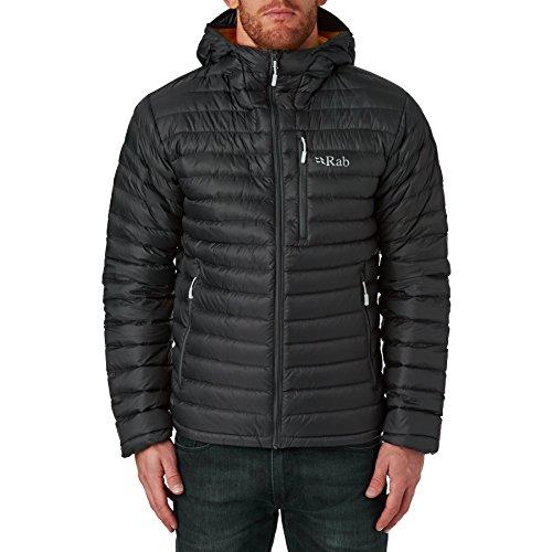 RAB Chaqueta Microlight Alpine, Hombre Beluga/Squash