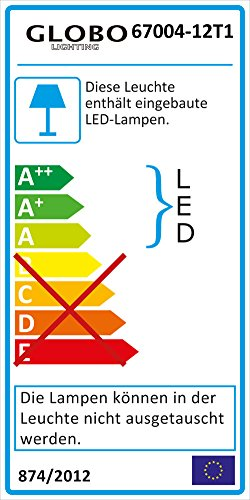 LED Tisch Lampe Beistell Lese Leuchte Kristalle Effekt Wellen Form Strahler IP20