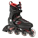 K2 Skate Men's Kinetic 80 Inline Skates, Black, 8