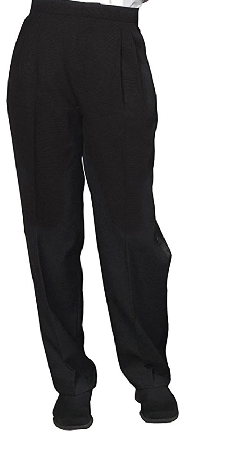 Neil Allyn Women's Pleated Front Tuxedo Trouser