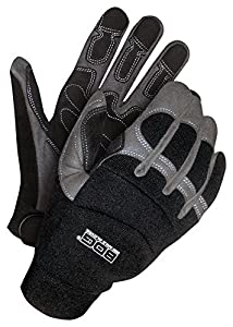 Bob Dale Gloves 20110003S Performance Glove Rope/Rescue Synthetic Leather Palm,