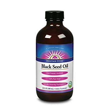 Heritage Store Black Seed Oil 8 fl oz