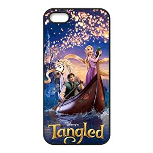 Customize Cartoon Tangled Princess Back Case Fits for iphone 5 5S JN5S-2353