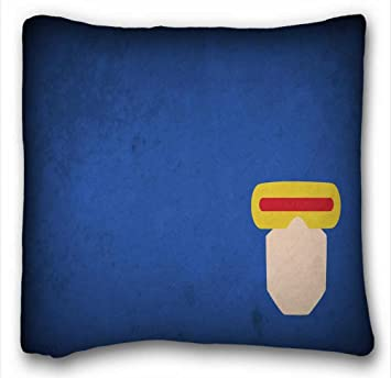 Custom Cyclops Wallpaper Zippered Body Pillow Case Cover Size 26quotX26quot Suitable