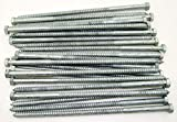 (25) Galvanized Hex Head 3/8 x 10'' Lag Bolts Wood Screws