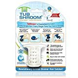 TubShroom TSWHT454 The Revolutionary Tub Drain Protector Hair Catcher/Strainer/Snare, White
