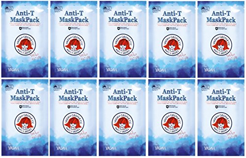 Yadah-Anti-T-Mask-Pack-10-Sheets-Set-Trouble-care-mask-sheet