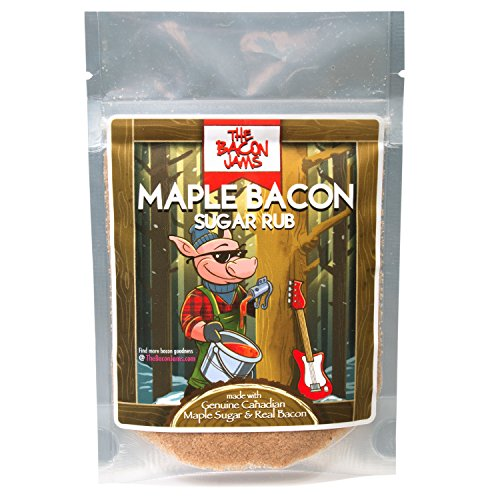 Cooking Canadian Bacon (Bacon Flavored Salts And Rubs By The Bacon Jams (Maple Bacon Sugar Rub))