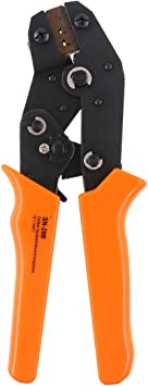 SN-28B 0.1-1.0mm² Pin Crimping Crimper Tool 2.54mm 3.96mm 28-18AWG for Dupont