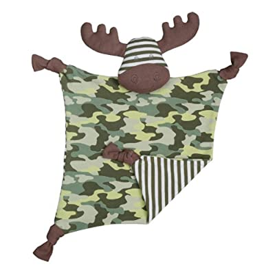 Organic Farm Buddies Blankie Marshall Moose: Toys & Games