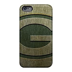 Scratch Protection Hard Phone Covers For Apple Iphone 6 (OTT297AMeV) Customized Vivid Green Bay Packers Pictures