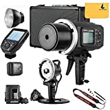 Godox AD600BM AD sync 1 / 8000s 2.4G Wireless Flash Light Speedlite,Godox XPro-C for Canon Cameras,AD-H600B Head,PB-600 Bag,CB-09 Suitcase Carry Bag,LETWING Camera Neck Strap