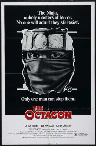 Amazon.com: C 27 x 40 Póster de The Octagon Chuck Norris ...