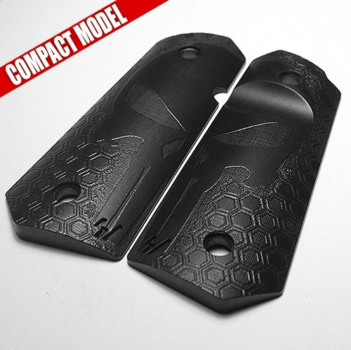1911 Grips for Compact / Officers Model - Mirror HoneyCom...