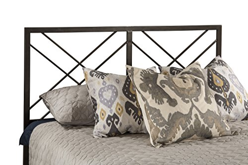 Hillsdale Furniture Headboard in Magnesium Pewter Finish (Full/Queen:61in.Wx0.75in.Dx52.25in.H(31lbs.)) (Magnesium Pewter Finish)