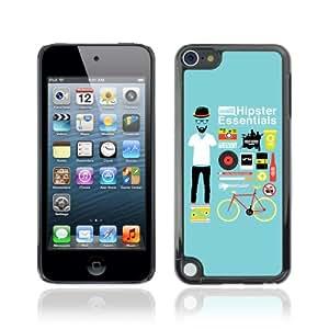CQ Tech Phone Accessory: Carcasa Trasera Rigida Aluminio Para Apple iPod Touch 5 - Cool Hipster Essentials Kit