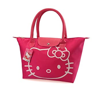 Amazon.com: hello kitty – Bolsa de la compra plegable bolso ...