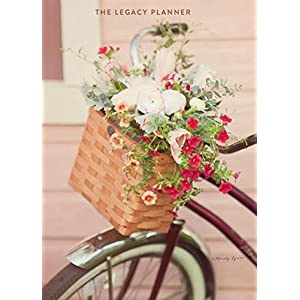 Legacy Publishing Group 2018 12-Month Weekly Planner, Bouquet Bike