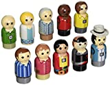 Entertainment Earth Dexter Pin Mate Wooden Figure 10th Anniversary Set of 10