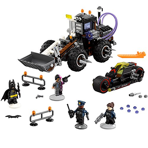 LEGO BATMAN MOVIE Two-Face Double Demolition 70915 Building (Double Action Trucks)