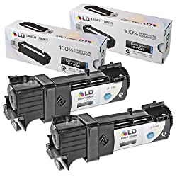 LD © Compatible Toner to replace Dell T106C High Yield Black Toner Cartridge for your Dell 2130cn & 2135cn Color Laser Printers