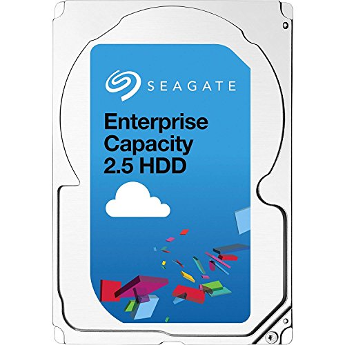 Seagate Enterprise Capacity 2.5 HDD | ST1000NX0453 | 1TB 7200RPM 128MB Cache 2.5-Inch | Dual SAS 12Gb/s Interface | 512n | Server Data Center Internal Hard Drive ()