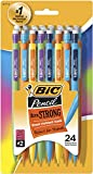 BIC Xtra-Strong Mechanical Pencil, Colorful Barrel, Thick Point (0.9mm), 24-Count (MPLWP241) Larger Image