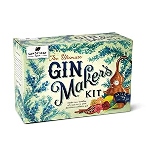 Sandy Leaf Farm Ultimate Gin Maker's Kit – Make ten big bottles of your own gin – Flavours including classic citrus, chocolate orange, pink, Christmas and more