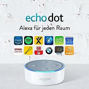 Amazon Echo Dot (2. Generation), Weiß