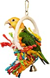 """Preen & Swing"" Bird Toy - Stimulates Healthy Exercise and Satisfies a Bird's Preening Instinct - SMALL"