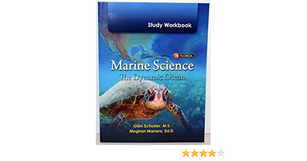 Marine Science The Dynamic Ocean Study Workbook Florida 9780133170672 Amazon Com Books