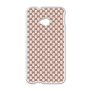 Happy Coach design fashion cell phone case for HTC One M7