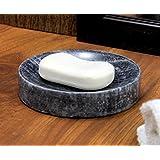 KLEO Natural Stone Soap Dish Bath Accessories For Bathroom , Tub or Wash Basin