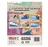 GEL PRINTING PLATE by Gelli Arts   Print gelly press, Craft amazing pictures to show off to your friends, 8X10 Inches Square