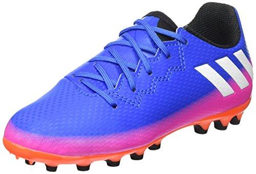 adidas Messi 16.3 AG J, Zapatillas de Fútbol Unisex Niños, Azul (Blue/FTW White/sorang), 30 EU: Amazon.es: Zapatos y complementos