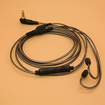 a5b455668f4 Replacement Upgrade Audio Cord Cable for Shure SE 215: Amazon.co.uk:  Electronics