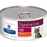 Hill's Prescription Diet i/d Digestive Care with Chicken Canned Cat Food 24/5.5 oz