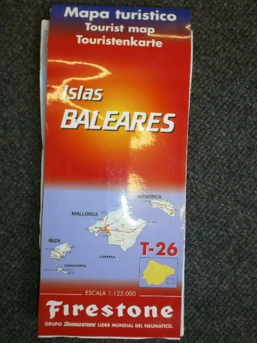 Balearics/Mallorca (Spanish National & Regional Maps) (English, French and Spanish Edition)