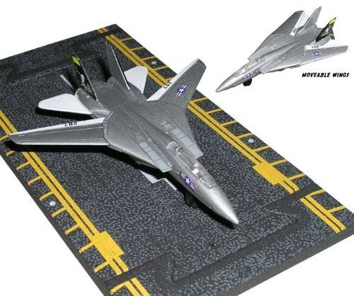 F-14 Tomcat Jolly Rogers (Hot Wings F-14 Tomcat Jolly Rogers Air Wing 8 by Hot Wings Planes)