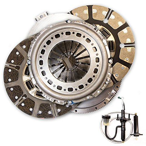 South Bend Clutch SDD3250-G Clutch Kit ( 05.5-13 Dodge 5.9/6.7L G56 Street Dual Disc (without Hyd Assy)) Street Clutch