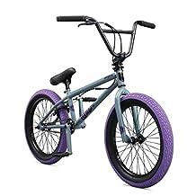 "Mongoose Legion L40 20"" Freestyle BMX Bike, Grey"