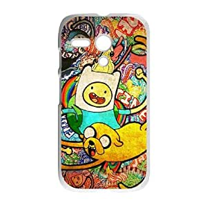 Adventure Time Poster Motorola G Cell Phone Case White phone component AU_497554