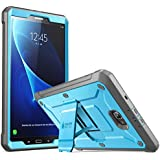 SUPCASE Galaxy Tab A 10.1 Case, [Heavy Duty] [Unicorn Beetle Pro Series] Full-Body Rugged Protective Case with Built-In Screen Protector for Samsung Galaxy Tab A 10.1 Inch 2016(No Pen Version)(BU/Bk)