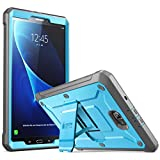 Galaxy Tab A 10.1 Case, SUPCASE [Unicorn Beetle Pro Series] Full-Body Rugged Protective Case with Built-in Screen Protector for Samsung Galaxy Tab A 10.1 Inch 2016(SM-T580/T585) No Pen Version(BU/Bk)