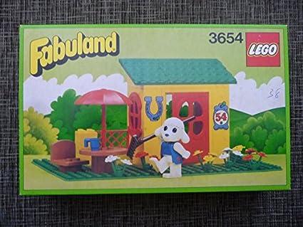 Amazoncom Lego Fabuland Country Cottage 3654 Toys Games