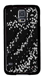cool Samsung Galaxy S5 case Beautiful Black PC Black Custom Samsung Galaxy S5 Case Cover
